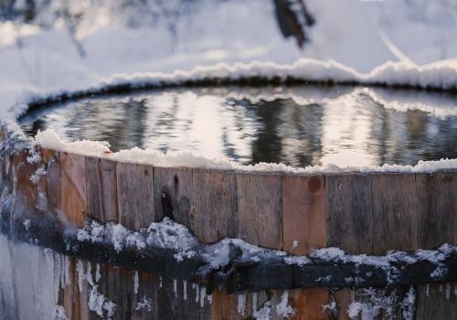 Kubilas žiemą